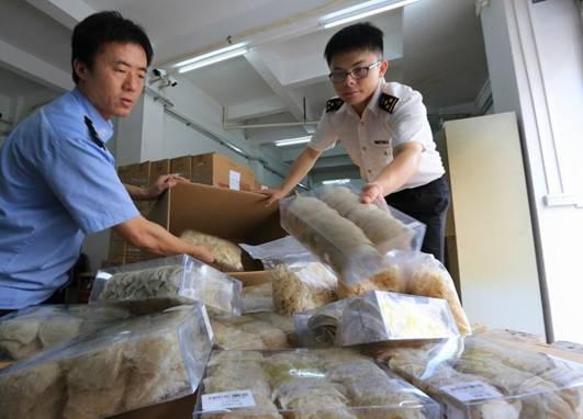 中国近年查获的走私燕窝案